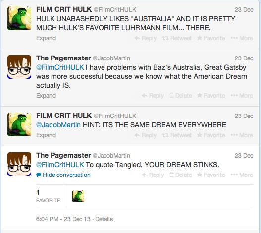 YOUR AMERICAN DREAM STINKS FILKCRITHULK WEBVERSION