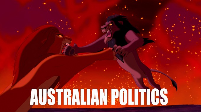 AUSTRALIAN POLITICS LION KING WEB VERSION