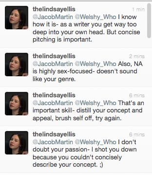 Lindsay Ellis Book Pitch Tweets web version
